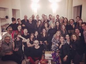 Por dentro do jantar com dupla comemoração de Marília Gabriela