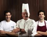 Rodrigo Oliveira, Francisco Pinheiro e Ivan Ralston: trio Power!