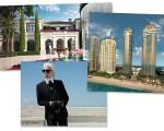Karl Lagerfeld vai assinar o lobby do condomínio Acqualina, em Miami!