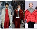 Casacos longos, veludo, jaquetas volumosas e o vermelho, são apostas da estação
