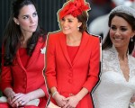 Kate Middleton em três momentos: no Canadá em 2011, em Londres nesta segunda-feira e no dia de seu casamento em 2011