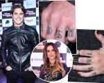 Romulo Neto, Cleo Pires e os detalhes das tatuagens que um fez em homenagem ao outro