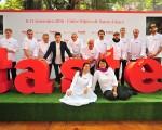 Chefs reunidos para o lançamento do Taste of São Paulo, que acontece em setembro no Clube Hípico Santo Amaro