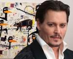 Johnny Depp e Jean-Michel Basquiat: leilão milionário!