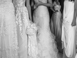 Projeto reúne noivas em sessão desapego de vestidos; espie as fotos