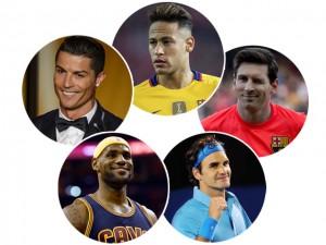 Ranking elege os atletas mais famosos do mundo. E em primeiro lugar…