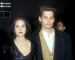 Winona Ryder e Johnny Depp na pré-estreia do filme