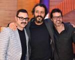 Emilio Orciollo Netto, Marcos Palmeira e Bruno Mazzeo