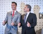 Lisboa, 17/12/2015 - Pestana Hotel Group e Cristiano Ronaldo anunciam sociedade para investimento hoteleiro conjunto. Cristiano Ronaldo ; Deonisio Pestana (Gerardo Santos / Global Imagens)