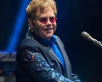 NEWPORT, UNITED KINGDOM - SEPTEMBER 08: Elton John performs at Day 4 of Bestival at Robin Hill Country Park on September 8, 2013 in Newport, Isle of Wight. (Photo by Zak Hussein/Getty Images)