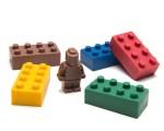 Legos de chocolate da Anusha. Hmm! Créditos: Divulgação