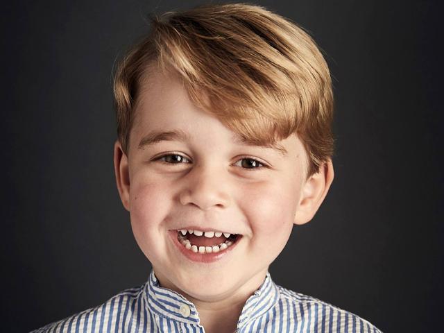 O aniversariante do dia: Principe George