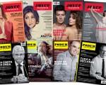 Edições anteriores da revista J.P e PODER agora à venda no Facebook