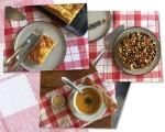 Tortas de linguiça, torta de pé de moleque e uma das novas sopas da Torteria