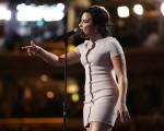 Demi Lovato na Convenção Nacional Democrata na Filadélfia nessa segunda-feira
