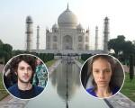 Clique do Taj Mahal feito pela atriz