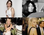 Isabeli Fontana, Yoko Ono, Kate Moss e Gwyneth Paltrow
