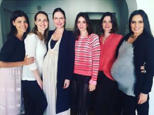 Com barrigão, Ana Claudia Michels arma chá de bebê para Iolanda