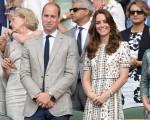 Duque e duquesa de Cambridge na final do campeonato de Wimbledon em Londres
