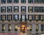 Fachada do Mandarin Hotel em Milão