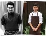 Os chefs Tadashi Shiraishi e Zayu Hasegawa