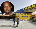 Kanye West tenta parceria com Ikea
