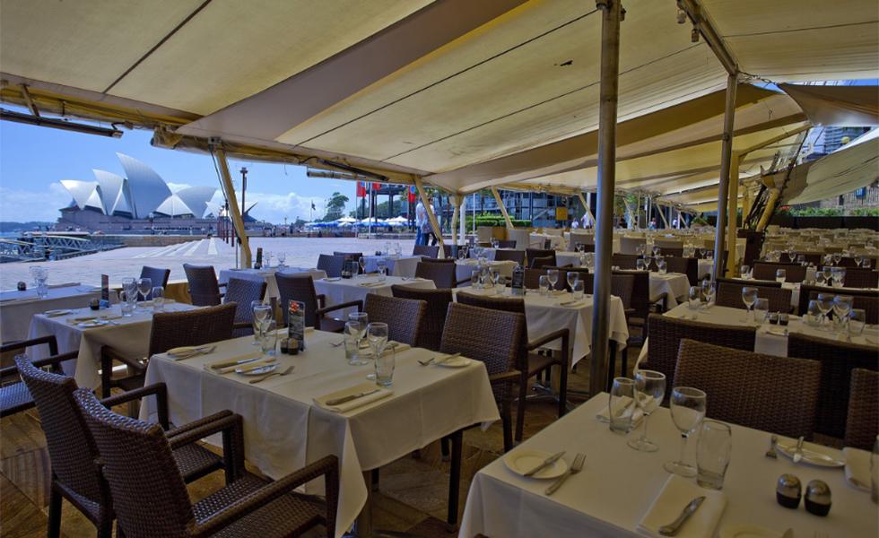 Muito al m da comida 15 restaurantes beira mar que for Australian cuisine restaurants sydney