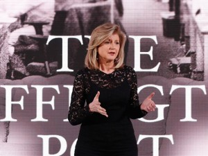 "Arianna Huffington deixa o comando do ""The Huffington Post"""