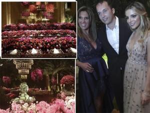 Sarah Mattar e Tiago Diniz ficam noivos com festão em SP. Como foi?