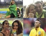 Celebs comemoram a vitória do Brasil sobre a Alemanha