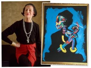 Retrato de Diana Vreeland avaliado em R$ 145 mil é roubado de hotel em NY