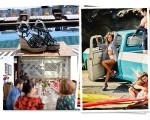 Detalhe de sandália da coleção de verão da Mr. Cat, Fernanda Lima, estrela da campanha da marca, e o almoço, em Santa Teresa
