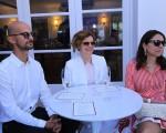 Antonio Frajado, Deborah Bloch e Paula Miller