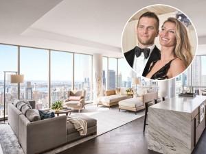 Quer morar no apê de Gisele e Tom Brady em NY? Só desembolsar R$55 mi