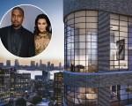 Kim Kardashian e Kanye West  e o apartamento que deve servir de morada para o casal