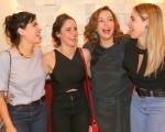 Vanessa Giácomo, Fernanda Vasconcellos, Regina Alves e Monique Alfradique