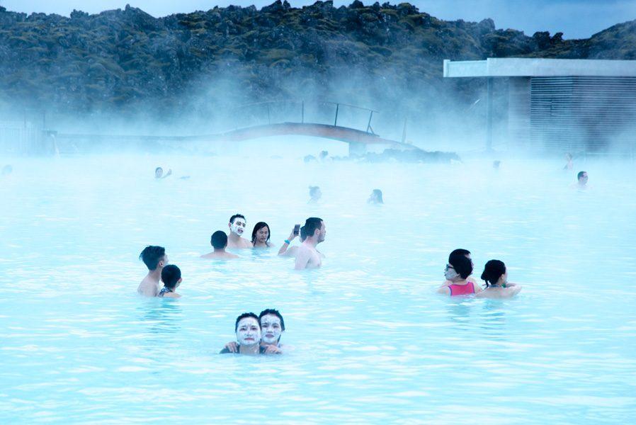 Blue Lagoon em um dos cliques feitos por Dani Tranchesi em sua viagem à Islândia.