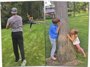 Com alguns cliques, Gisele e Tom Brady curtem os filhos na natureza