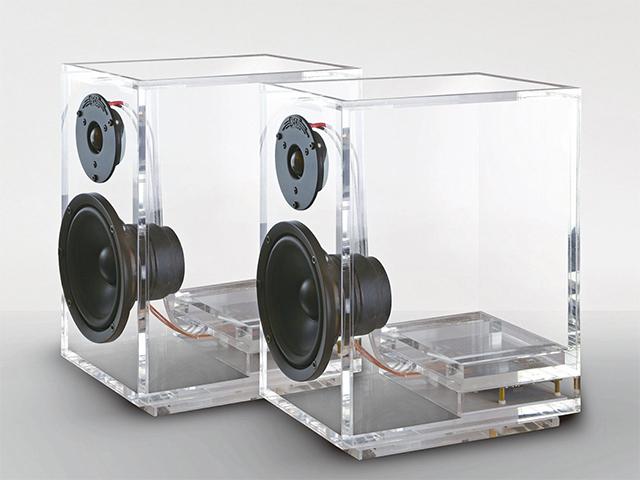 Sonzera das boas com as caixas de som transparentes ONEclassic
