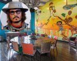 Johnny Depp colocou à venda o apartamento dele em Los Angeles