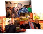 Janaina e Jefferson Rueda, Cesar Toledo Piza Jr. com Marília Gabriela e o estilista Walério Araújo: noite animada!
