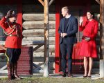 WHITEHORSE, BC - SEPTEMBER 28:  Catherine, Duchess of Cambridge and Prince William, Duke of Cambridge leave McBride Museum during the Royal Tour of Canada on September 28, 2016 in Whitehorse, Canada. Prince William, Duke of Cambridge, Catherine, Duchess of Cambridge, Prince George and Princess Charlotte are visiting Canada as part of an eight day visit to the country taking in areas such as Bella Bella, Whitehorse and Kelowna.  (Photo by Chris Jackson/Getty Images)