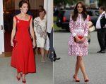 Looks usados por Kate Middleton no Canadá