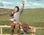 Paul McCartney e seus filhos - clique de Linda publicado no livro
