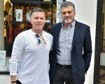 Chris Kypriots e Fabrizio Giannone