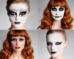 Looks do aplicativo Make You: Viúva Negra, Wicked, Magic Spell e Black Swan