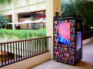Cidade Jardim tem primeira Underwear Machine Calvin Klein do país
