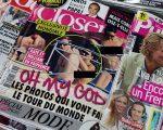 Revista Closer nas bancas, em 2012 || Créditos: Getty Images