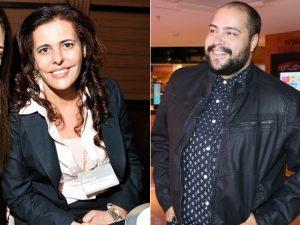 Alcione de Albanesi e Tiago Abravanel Créditos: Divulgação