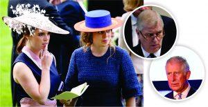 Príncipes Charles e Andrew em racha para proteger herdeiros
